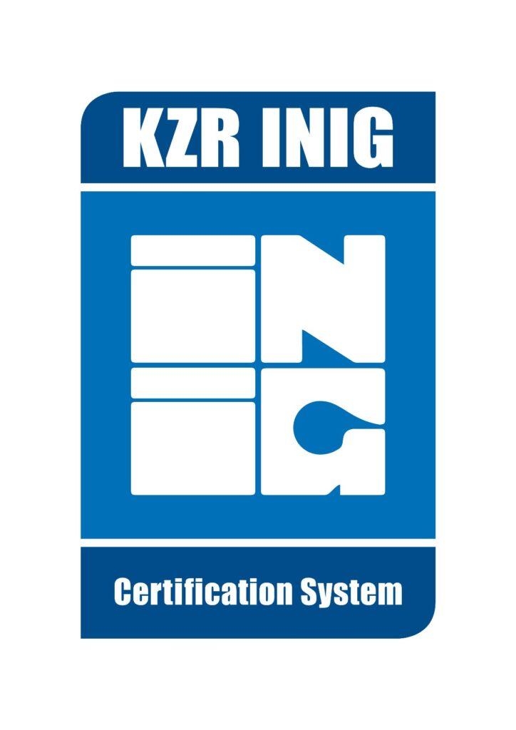 certyfikat KZR INiG